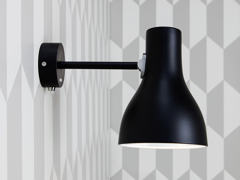 buy the anglepoise type 75 wall light at. Black Bedroom Furniture Sets. Home Design Ideas