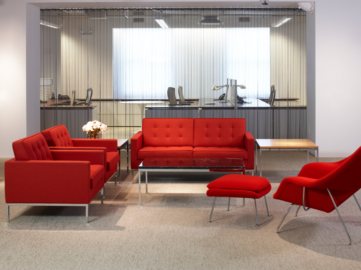 Buy the Knoll Studio Knoll Florence Knoll Two Seater Sofa at Nestcouk