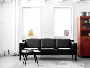 Fredericia 2213 Three Seater Sofa