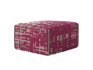 GAN Canevas Square Abstract Pouffe