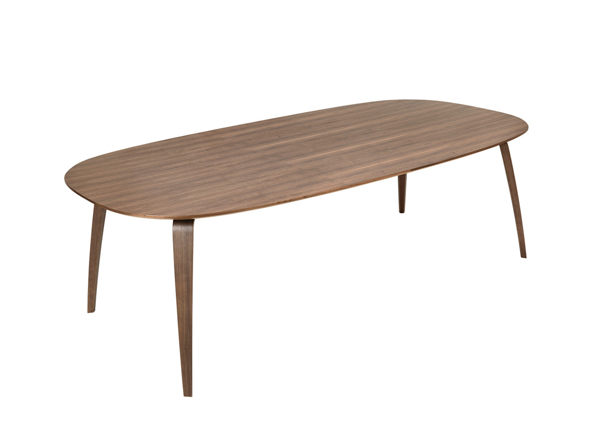 Buy The Gubi Dining Table Ellipse At Nestcouk