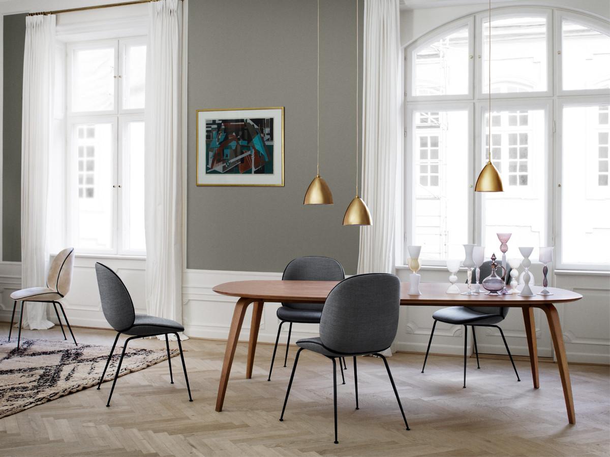 Buy The Gubi Dining Table Ellipse At Nest Co Uk