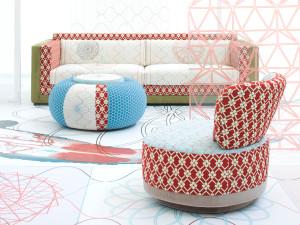 Moroso Sushi Karmakoma Major Three Seater Sofa