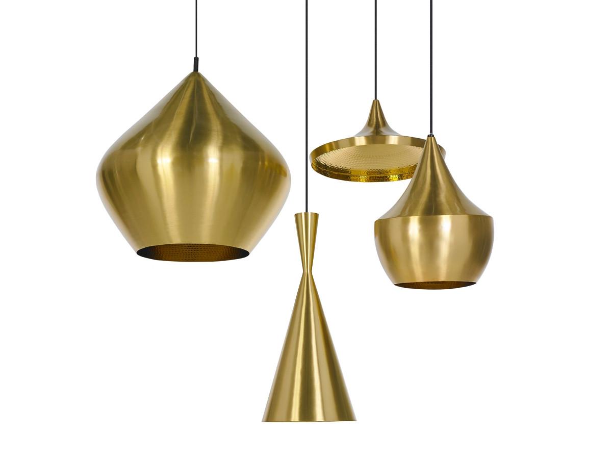 ... Tom Dixon Beat Light Wide   Brass. 123
