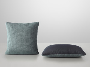 Muuto Mingle Cushion Petrol
