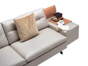 Poltrona Frau GranTorino Two Seater Sofa - Asymmetric