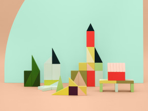 View Hay Wooden Wonderland Building Blocks