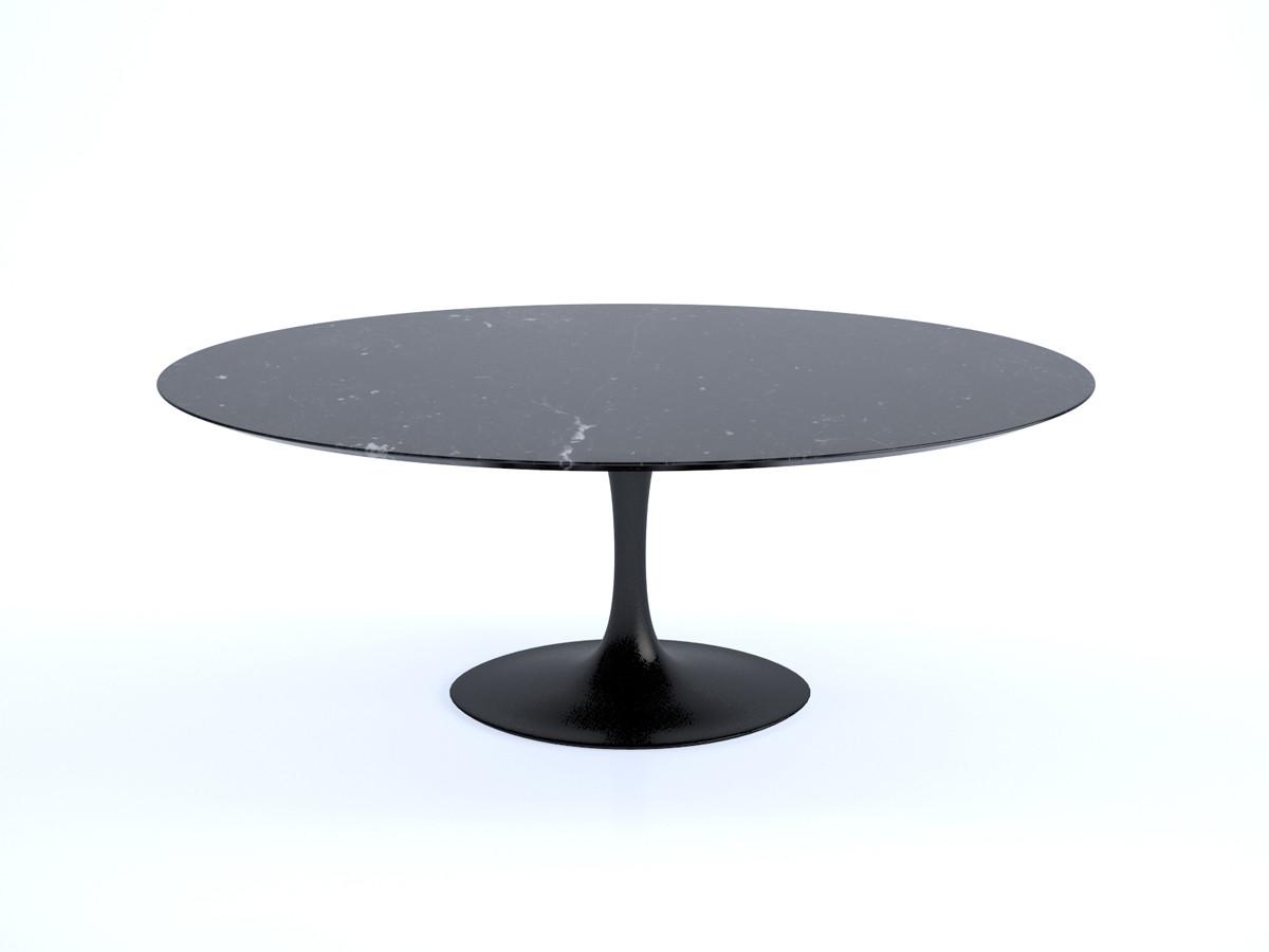 Buy the knoll saarinen tulip dining table oval at - Oval saarinen dining table ...