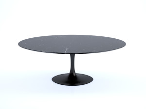 Knoll Saarinen Tulip Dining Table - Oval