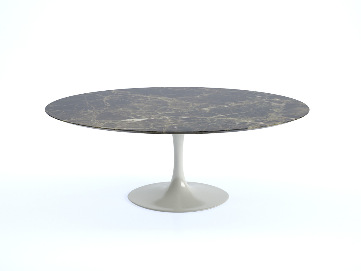 Buy The Knoll Saarinen Tulip Dining Table Oval At Nestcouk