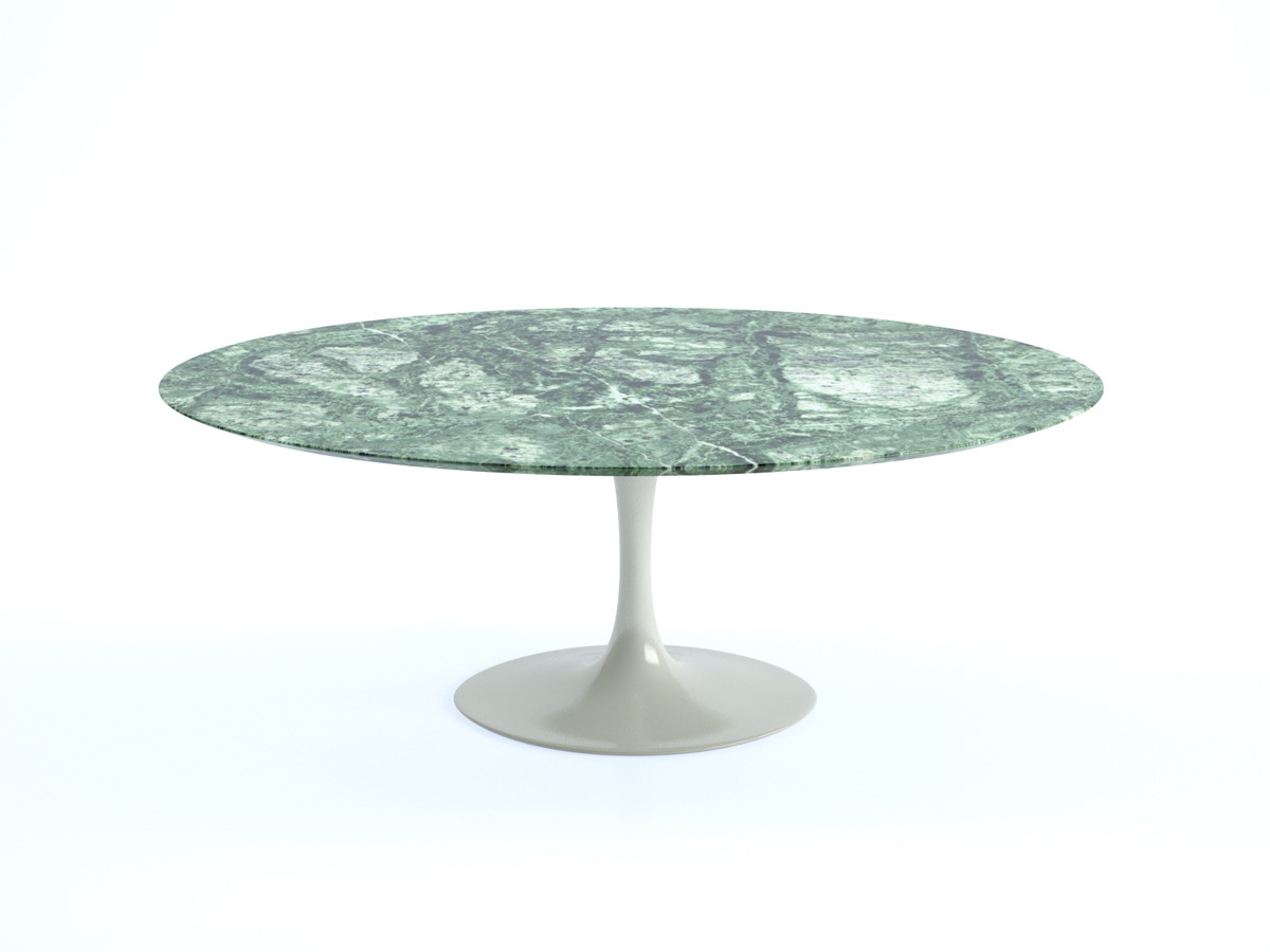 Buy the knoll saarinen tulip dining table oval at for Tulip dining table
