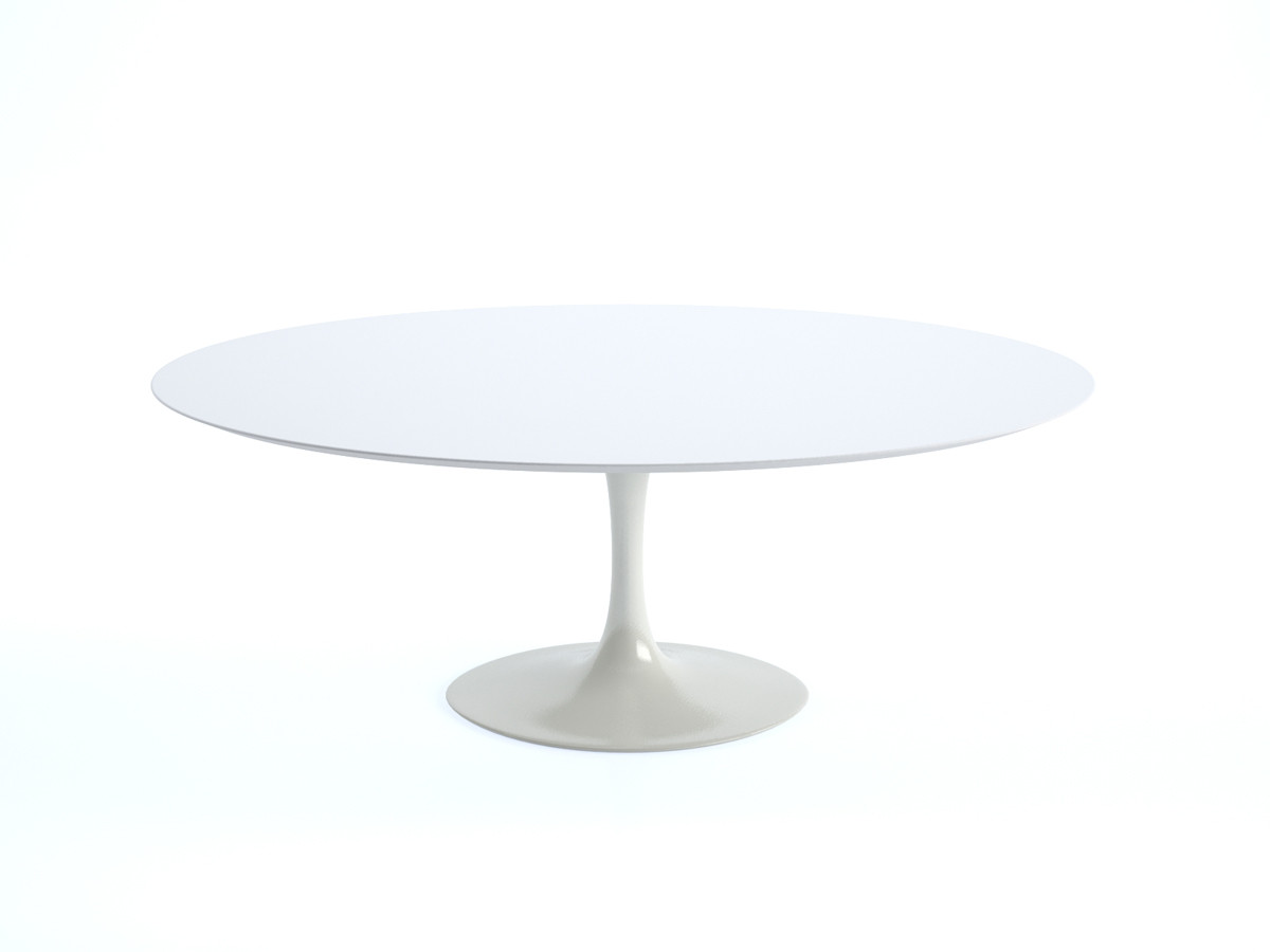 Buy The Knoll Saarinen Tulip Dining Table Oval At Nest Co Uk
