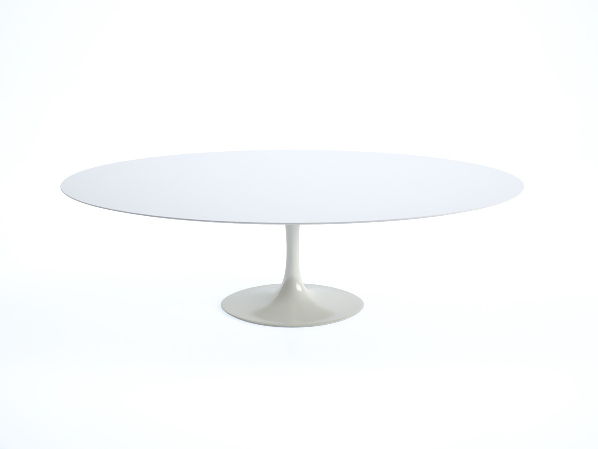 buy the knoll saarinen tulip large dining table  oval at nestcouk -  knoll saarinen tulip large dining table  oval