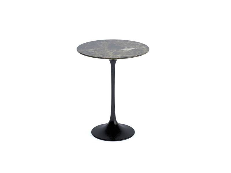 Buy the Knoll Saarinen Tulip Side Table Round at Nestcouk