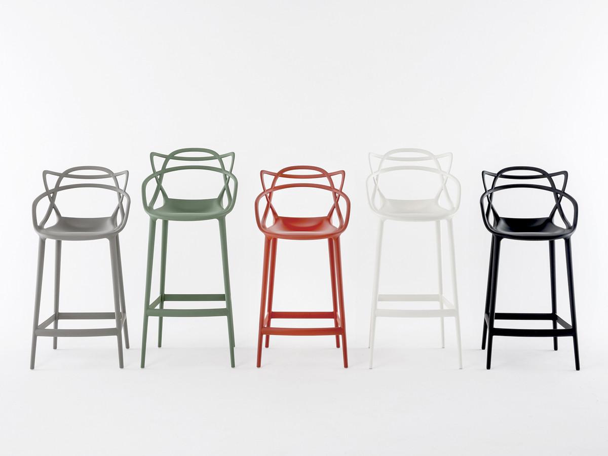 buy the kartell masters bar stool grey at nestcouk -  kartell masters bar stool grey